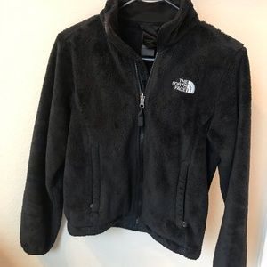The North Face sweater furry size XS
